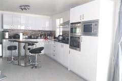 Finish Project in brookfield subdivision, Lapu-Lapu Cebu of Glossy White Cabinet