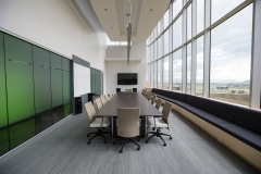 Office table partitions
